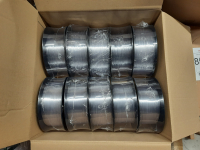 Sonderposten (13€/kg): 7kg PETG Filament | transparent | Ø 1,75mm | Made in Europa