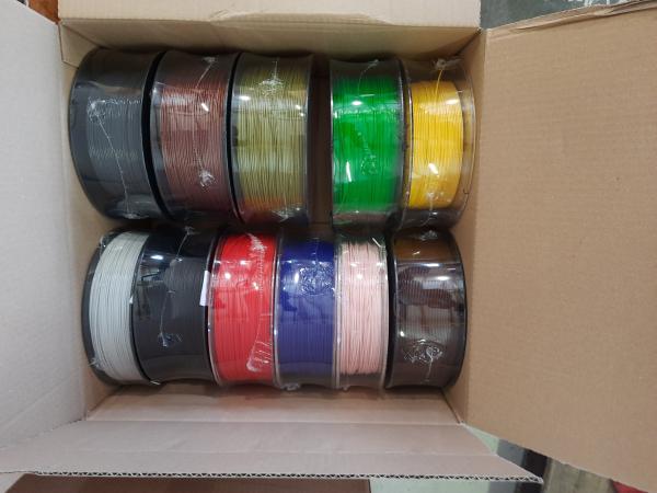 Sonderposten: 7kg PLA Filament | Ø 1,75mm | Sonderposten/Kiloware | Made in Europa | gemischte Farben