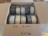 PLA B-Ware Box #31: 5.45kg PLA gemischte Farben - Made in...