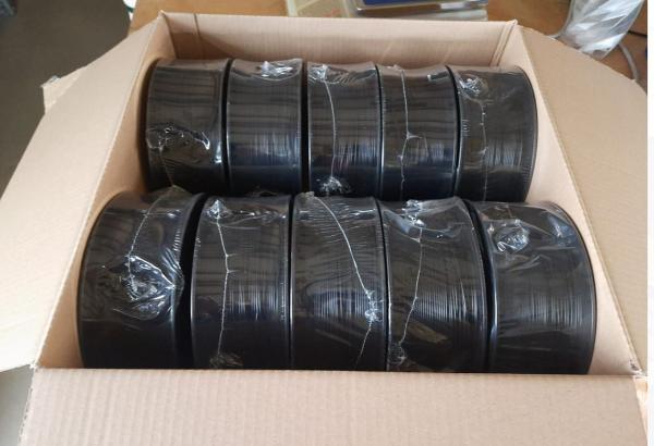 Sonderposten (15€/kg): 7kg PLA Filament | schwarz | Ø 1,75mm |  Made in Europa |