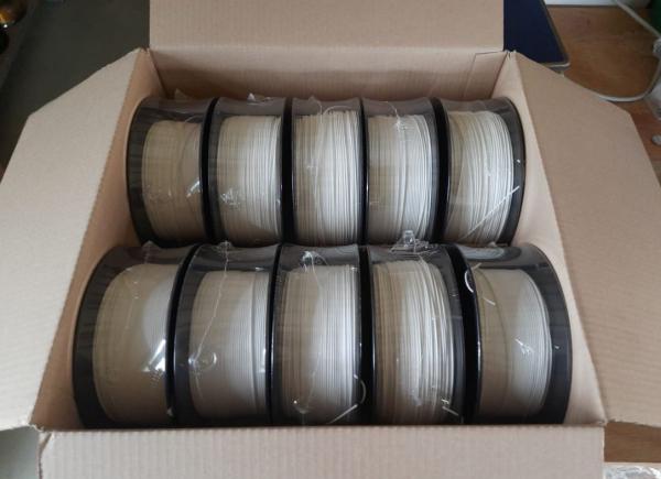 Sonderposten (13€/kg): 7kg PLA Filament | weiss | Ø 1,75mm |  Made in Europa