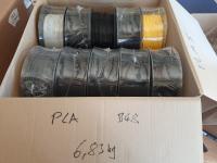 PLA B-Ware Box #48: 6.83kg PLA gemischte Farben - Made in...