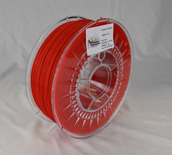 FilamentDiscount Premium PLA Filament | rot | Ø 1,75mm | 1kg | Made in EU